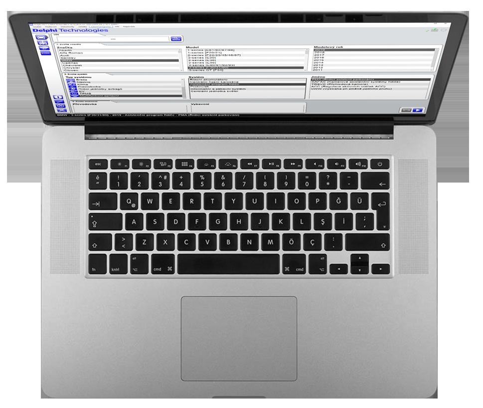 Aktualizovaný počítač Delphi