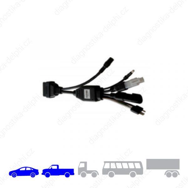 Redukce Ford/VW/Volvo OBD universal pro osobní/VAN vozidla